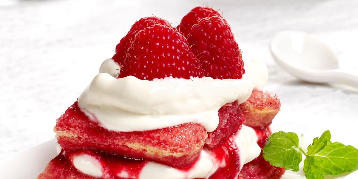 Beeramisu: white chocolate with raspberries & Timmermans Framboise